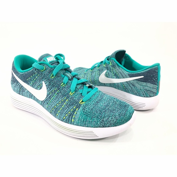 lowest price 3c4a1 8842f Nike LunarEpic Low Flyknit Clear Jade White Ocean